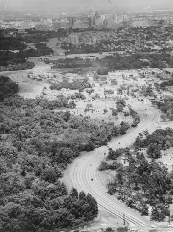 Allen Parkway, 1960's
