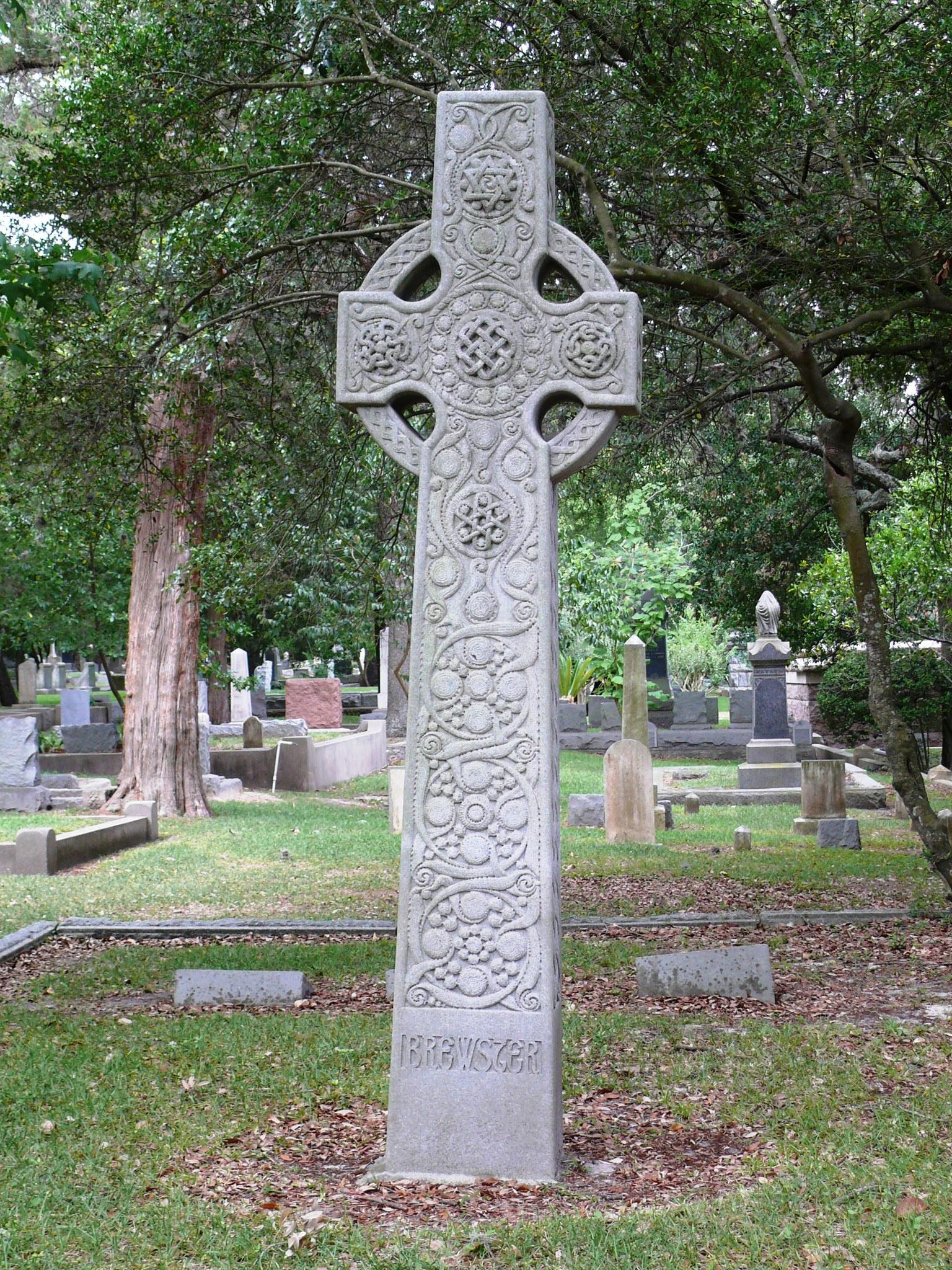 Glenwood Cemetery, Celtic cross
