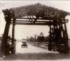 Entrance to Camp Logan