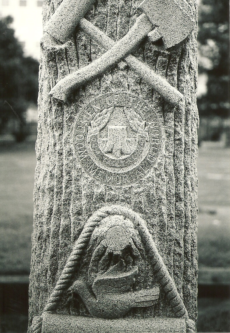 Washington Cemetery, Woodmen of World symbols