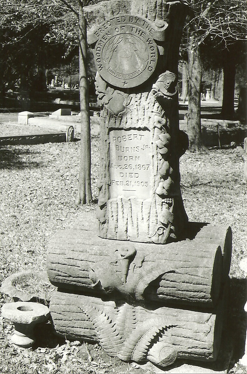Washington Cemetery, Woodmen of the World
