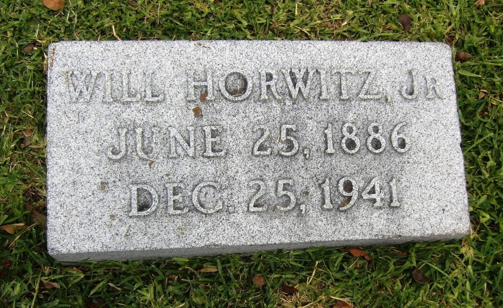 Beth Israel -- Will Horwitz Jr.