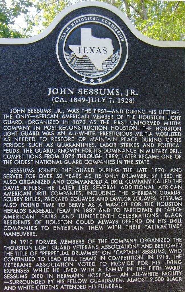 College Park, John Sessums Jr.