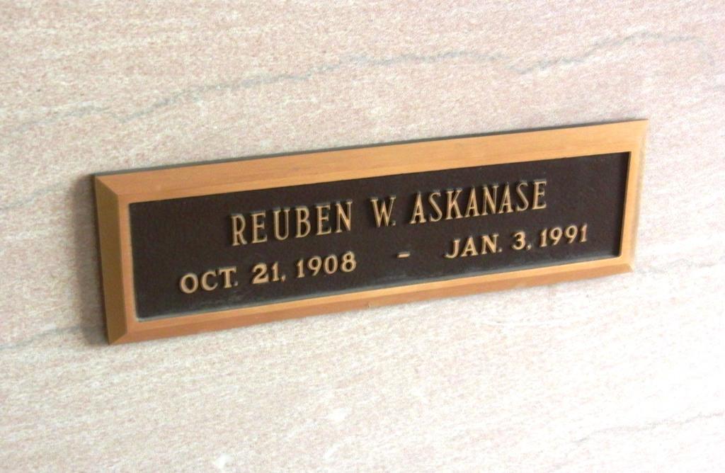 Beth Israel -- Reuben Askanase