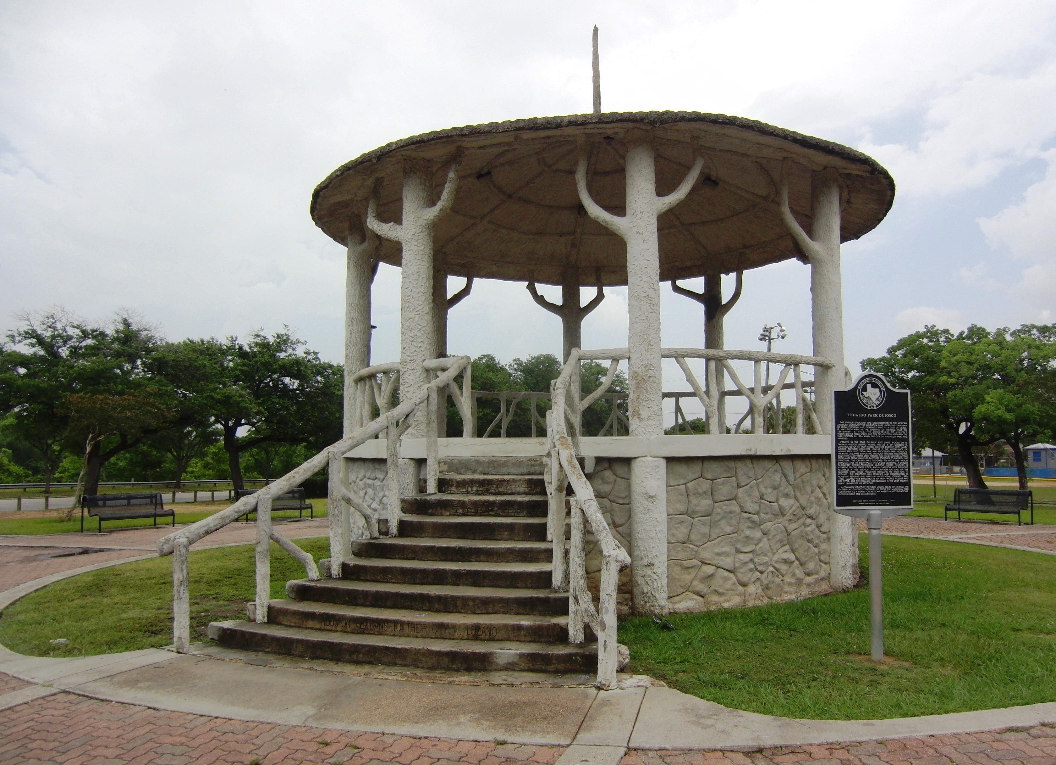Hollywood, Quiosco in Hidalgo Park