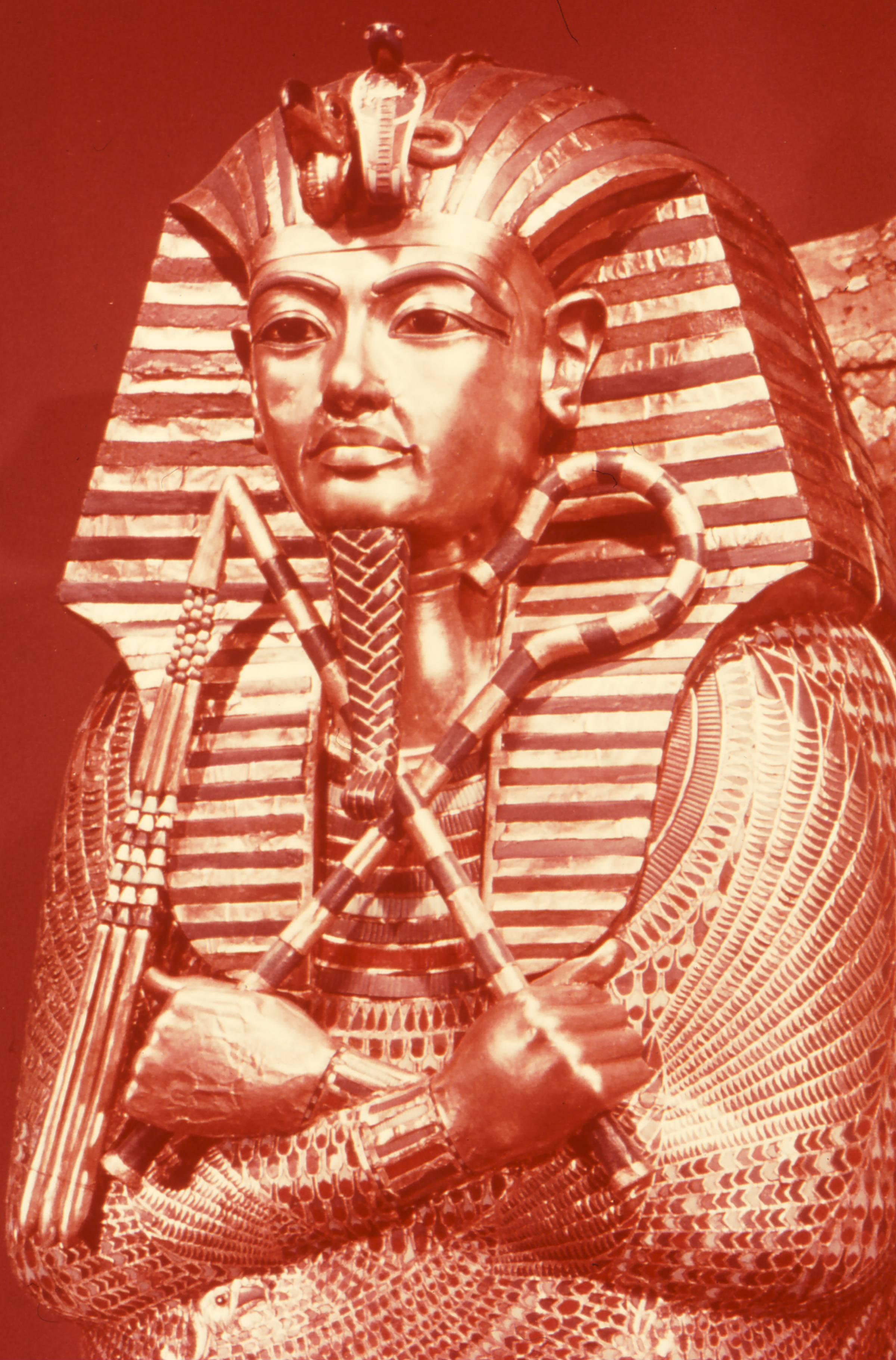 King Tut Mummy Egypt