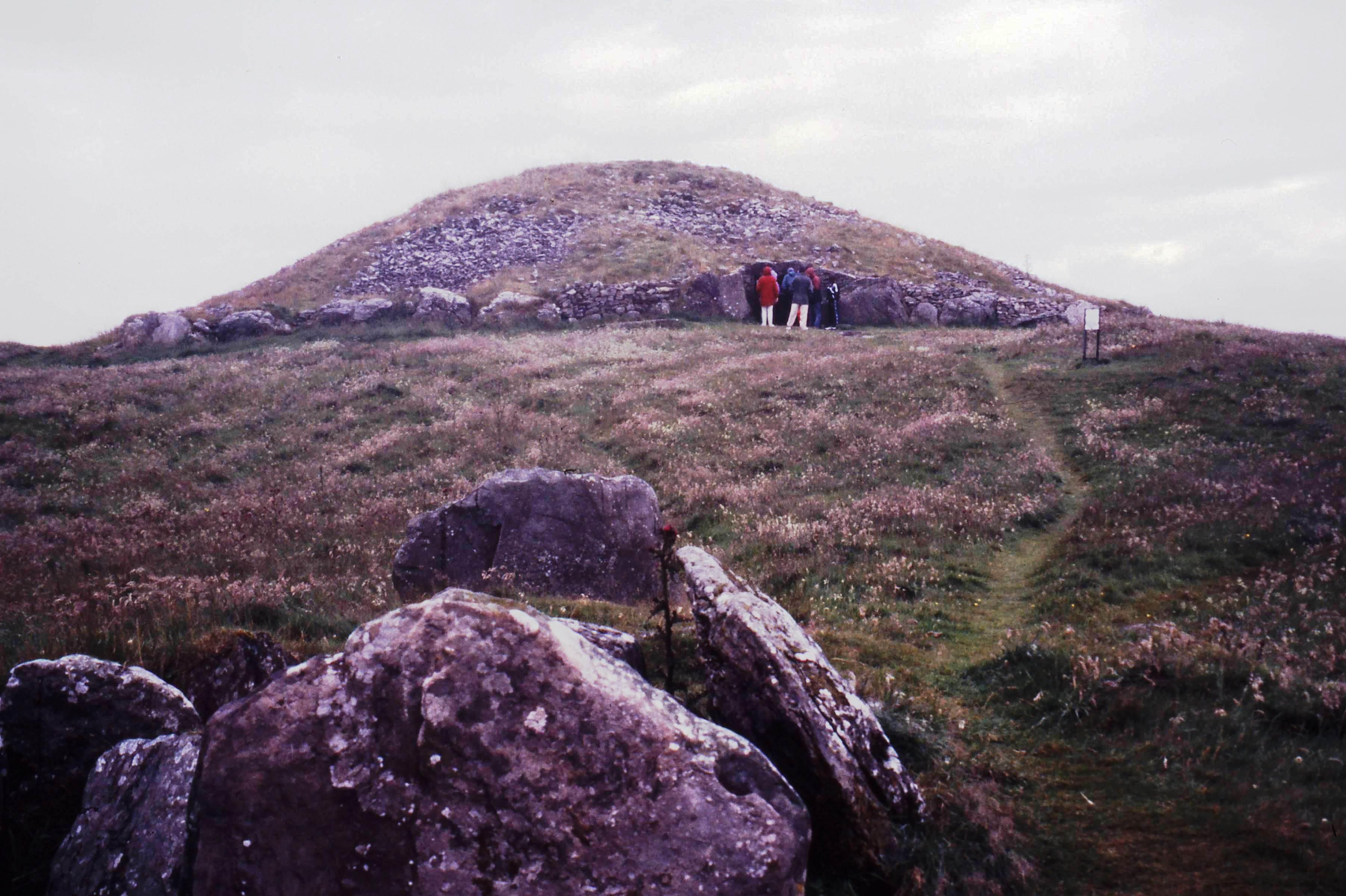Barrow Tomb, 2000  BC, Ireland