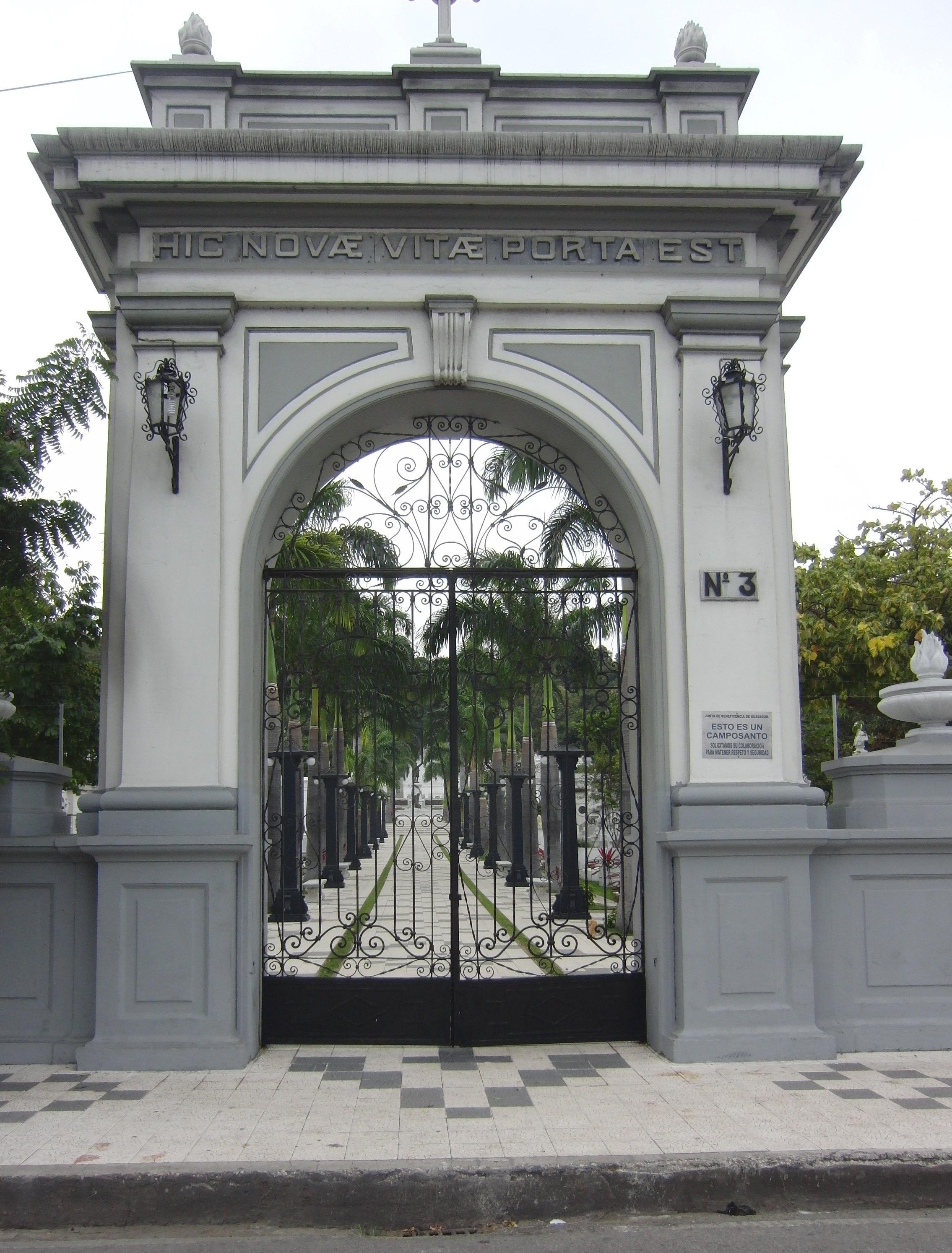 General Cemetery Main Gate