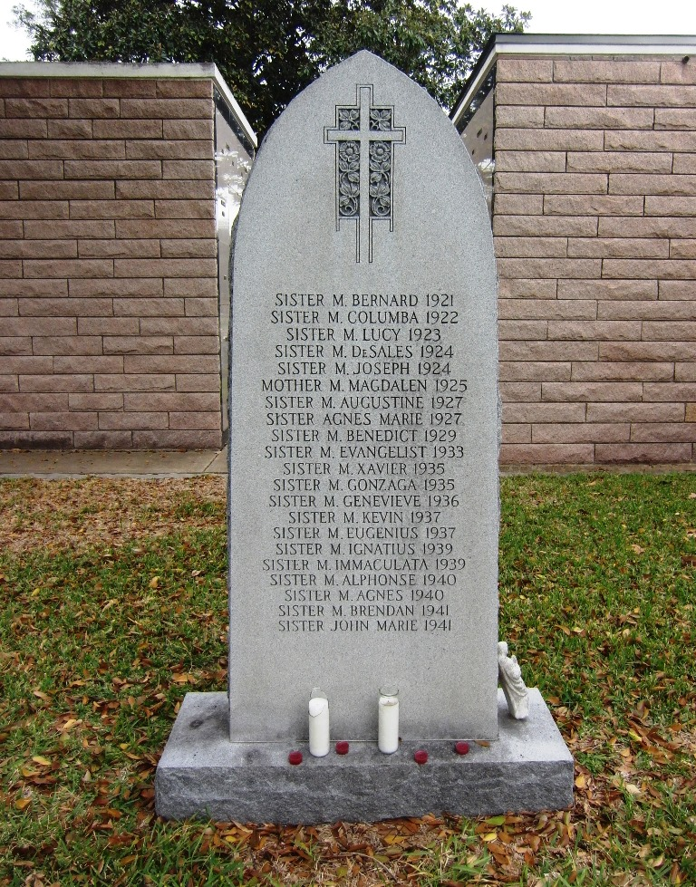 Holy Cross -- graves of the Nuns2