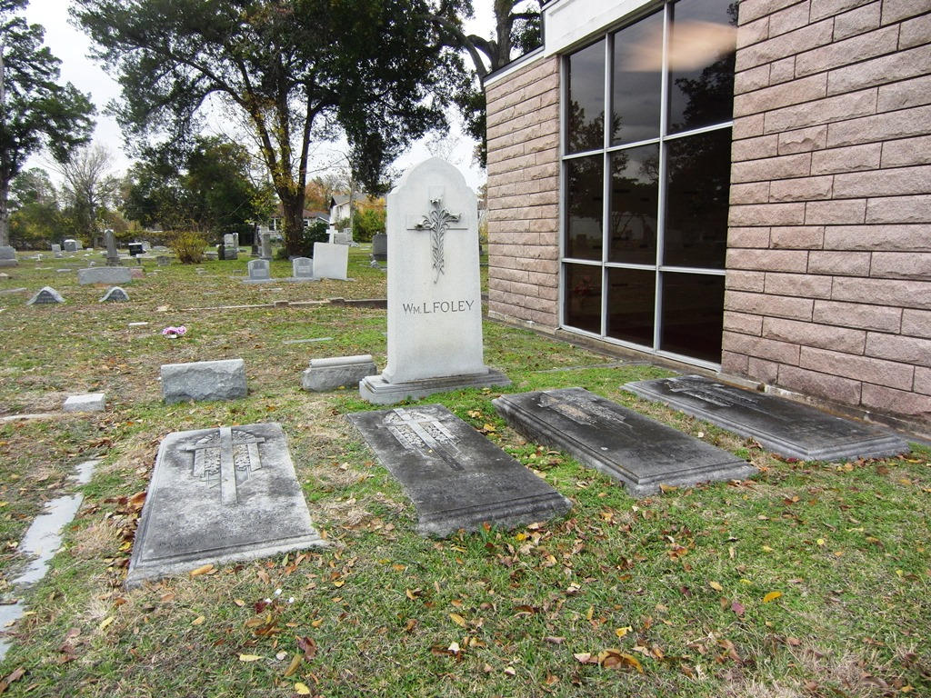 Holy Cross -- W. L. Foley plot