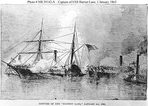 Capture of the Harriet Lane
