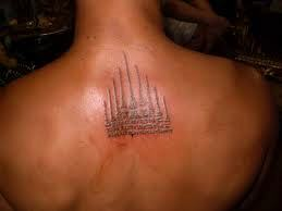 Yantra tattoo