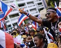 Thai riots 2014