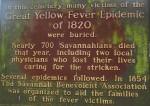 Yellow Fever Mass Grave Marker