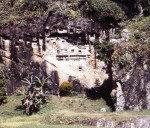 Lemo rock cliff graves