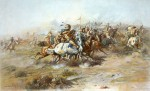 """Charles Russell's """"Custer's Last Stand"""""""