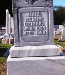 Geiger, John Henry