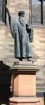 Pont Statue by John Knox in _Edinburgh