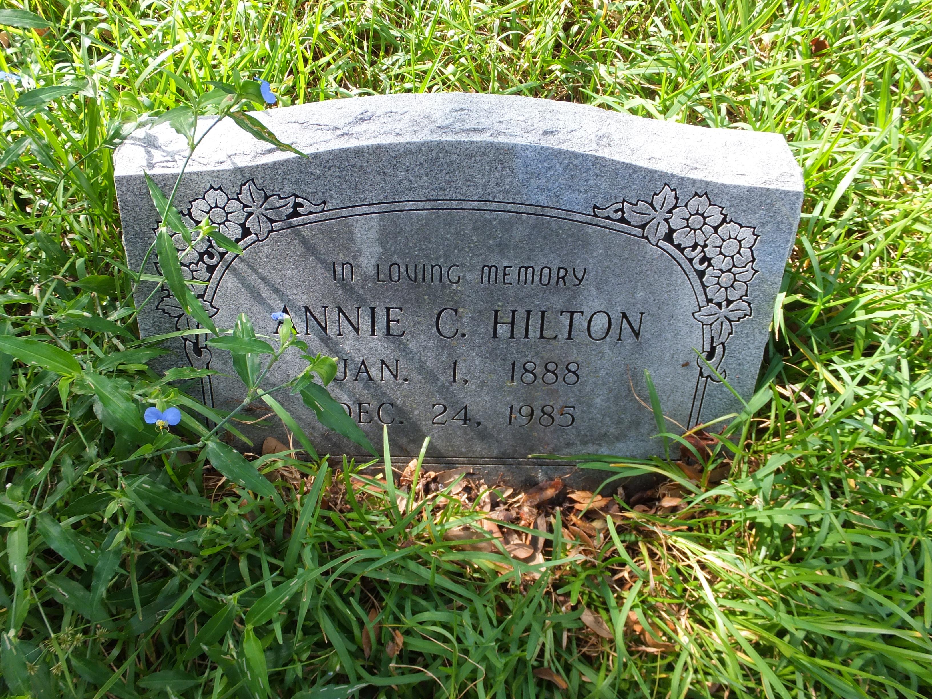 Annie C. Hilton